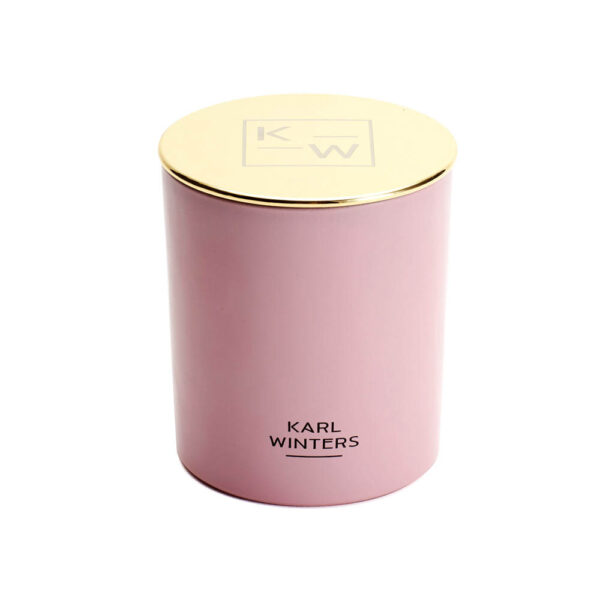 Rose scented luxury Candle with all natural wax